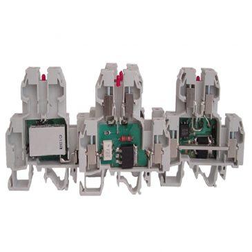 Vrstne sponke z elektroniko