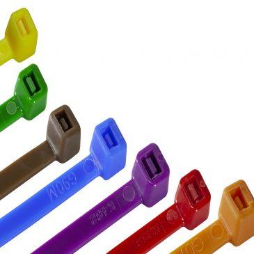 Vezni trakovi (kabelske vezice) – barvni