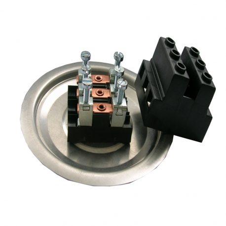 Sklop pokrova kondenzatorja – črna barva